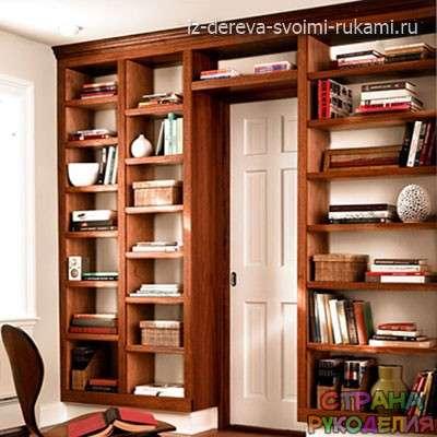 Книжный шкаф сделать своими руками