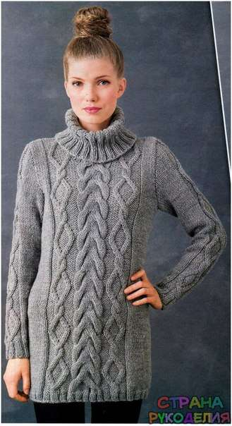 Вязание свитера с выкройками фото 917