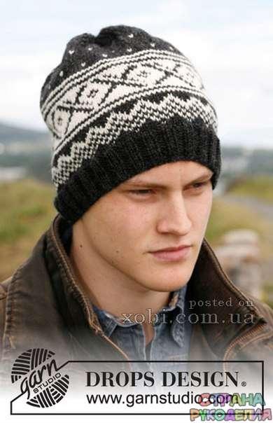 шапка для парней - Головные уборы,шарфы - Вязание для ...