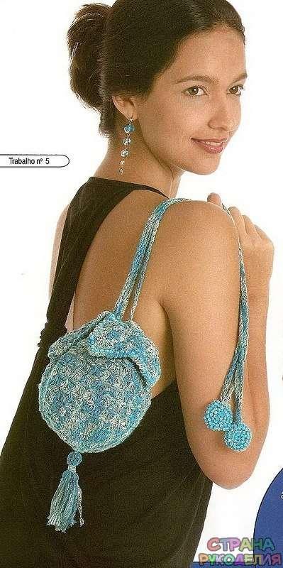 сумка из шерсти своими руками мастер класс